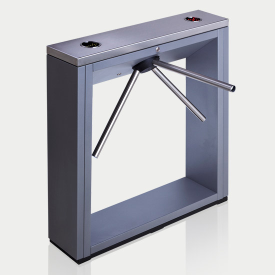 PERCo turnstiles - TTD-03.2 model - dark grey color
