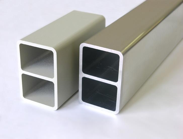 PERCo full height turnstiles - aluminium profiles