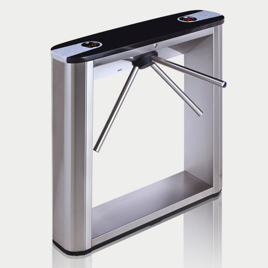 PERCo-TTD-03.1 box turnstiles with black top cover