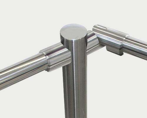 Railings adjustable coupling fittings