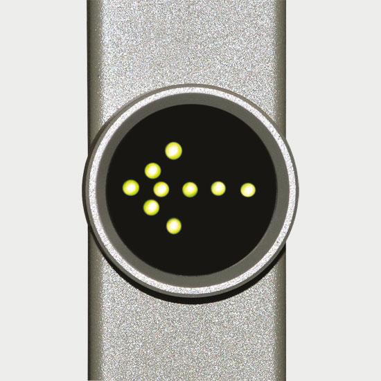 LED indicator of way direction
